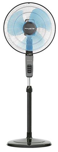 Rowenta VU4110F0 Essential Ventilatore, Piantana 40 cm, 60 W, Griglie di Protezione per i Bambini