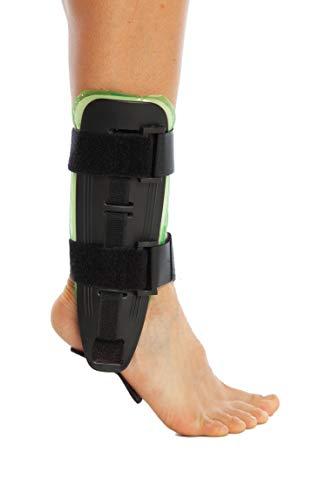 ArmoLine Air Pad Knöchel-bandage - Sprunggelenkorthese - Knöchelschiene - Steigbügel Knöchelorthese - Luft Gel