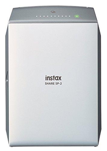Fujifilm Instax SHARE SP-2 Stampante Istantanea per Smartphone e Fotocamera, Argento