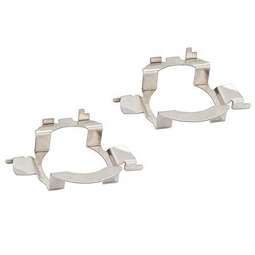 SENZEAL 2pcs plastica H7 LED Fari Fermi Lampadine prese Adattatore D05 per N i s s a n