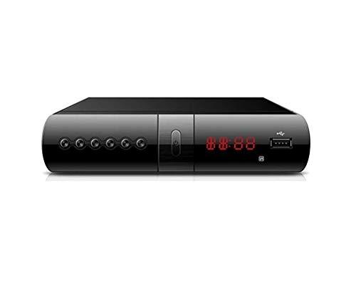 Digitale Terrestre Decoder DVB-T2 Ricevitore Scart HDMI USB Telecomando Full HD Fair