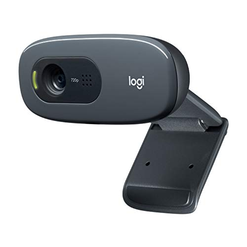 Logitech C270 Webcam HD per Videochiamate Widescreen con Microfono con Riduzione del Rumore e...