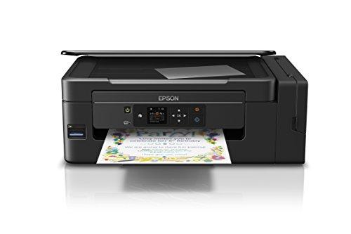 Epson EcoTank ET-2650, Stampante InkJet 3-in-1, 4 colori, Nero