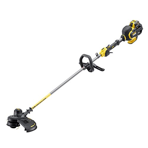 "The DEWALT DCM571 ""XR Flexvolt"" Brush Cutter boasts XR FLEXVOLT 54V brushless technology, which provides exceptional performance, reliability for the most challenging jobs. DEWALT claims 54V Li-Ion battery offers runtime and performance that has never been seen before, making it a reliable tool for professional tradesmen to undertake heavy-duty applications without the need for mains power."