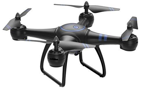 AKASO A31 Drone con videocamera, Quadricottero Telecomando Live Video FPV, WiFi RC Drone con...