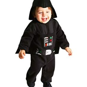 Horror-Shop Traje De Niño Pequeño Darth Vader Kleinkind