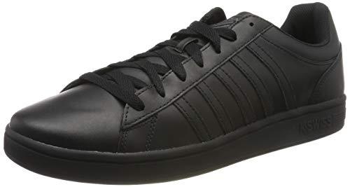 K-Swiss Herren COURT WINSTON Sneaker Schwarz (Black 001), 41 EU