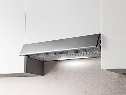 Cappa da cucina, Filtrante, Installazione Sottopensile, da 60 cm Profondità 30 cm, colore Inox...