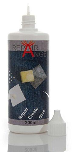 Repair Angel Textilkleber waschmaschinenfest Transparent für Stoffe...