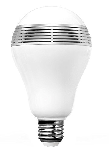 CHKOKKO Smart APP controlled LED Multicolor light bulb with Built-in Bluetooth Speaker