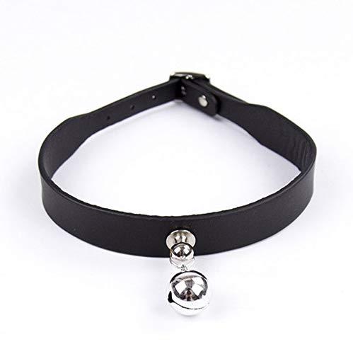 RoseLock BDSM Sklavenhalsband Halsband für Sklaven und Herrinen Erotik Band Lederhalsband Halsschmuck