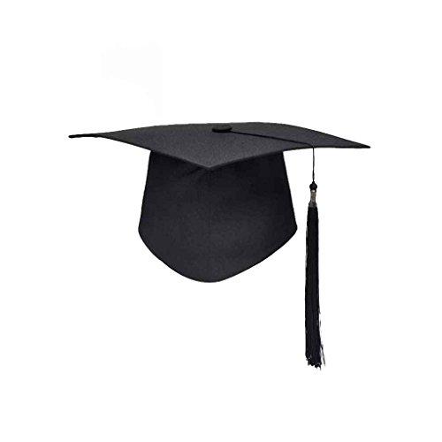 Mengonee Graduación de las borlas de la Universidad Cap Birrete Licenciatura Maestro Médico Académico Sombrero