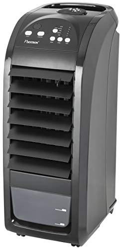 Bestron Climatiseur mobile avec télécommande, 20 h d'utilisation continue max., 70 W, Noir