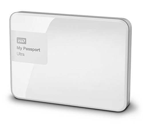 WD WDBBKD0020BWT-EESN My Passport Ultra Hard Disk Esterno Portatile, USB 3.0, 2 TB, Bianco