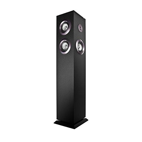 Energy Sistem Tower 8 - Equipo de Home Cinema, Bluetooth, panel táctil, RMS: 100 W, USB, FM, negro