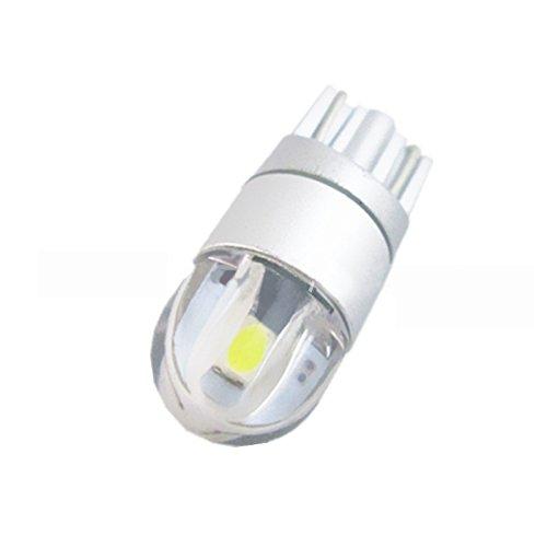 CUHAWUDBA 2 pz W5W T10 2 lampadine LED SMD 3030 Super Bright White per luci di Marcia diurne Esterne per Auto Lampadina 12 V Targa Luce Indicatore di direzione Luce Segnale Luminoso