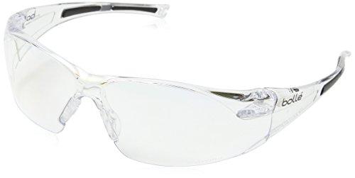 Bolle RUSHDPI HD - Gafas de seguridad, color transparente