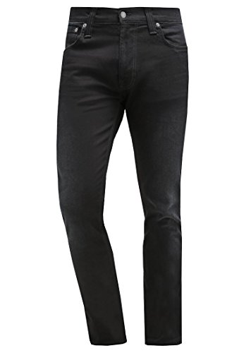 NUDIE JEANS THIN FINN Herren BLACK SMOKE Jeans Slim Fit W33 L34