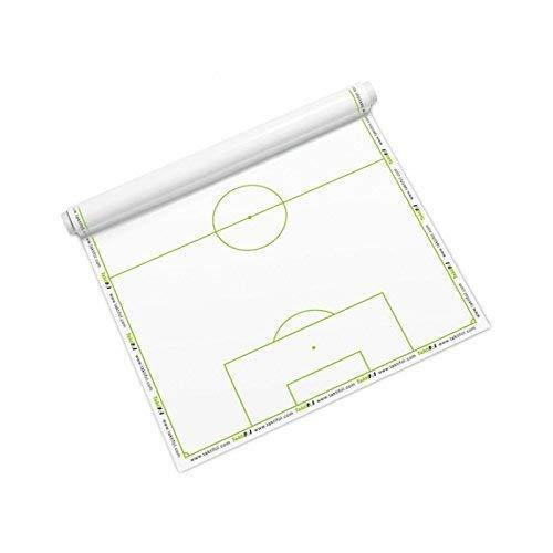 Taktifol foglio tattica per calcio - rotolo con 25 fogli