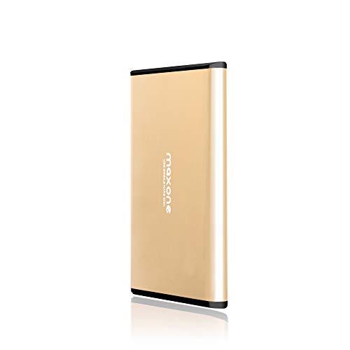 1TB Ultrasottile Hard Disk Esterno - Maxone Portatile da 2,5'da USB3.0 HDD Storage per PC, Mac,...
