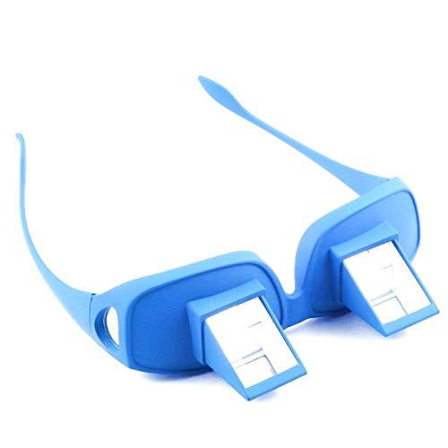 Gafas de Escalada aseguramiento para visión Horizontal - Hombres y Mujeres Unisex - Azul