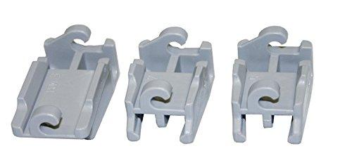 Bosch Siemens 418674 originale SET Stock clipart collegamento della clip incernierato picchi...
