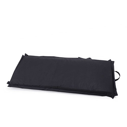 Ampel 24 Siège de sol FESTIVAL, chaise de méditation avec dossier réglable | Siège pliable parfait pour l'extèrieur | imperméable | noir 10