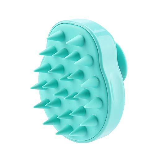 Spazzola per il corpo Scrubber posteriore Materiale siliconico Shampoo Cuoio capelluto Doccia...