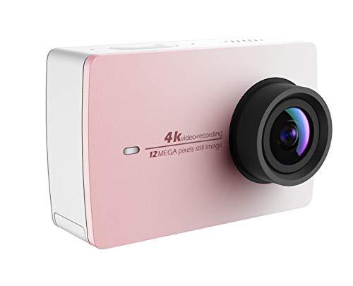 YI 4k Action Cam Videocamera 4K / 30 fps 1080p / 120 fps Fotocamera Digitale 12 MP WiFi [Edizione Limitata Colore Oro Rosa]