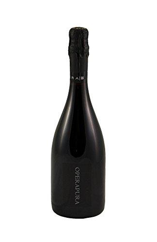 Opera Pura Lambrusco Grasparossa di Castelvetro Spumante Brut Biologico - bottiglia da 0,75 L