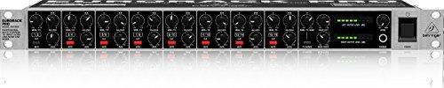 Behringer PRO RX1602 mezclador DJ - Mezclador para DJ (97 Db, -70 Db, 20 - 200000 Hz, 0,0025%, 14W, 48,26 cm)