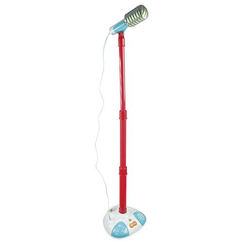 Winfun - Micrófono con pie & conexión a dispositivos musicales (ColorBaby 44255)