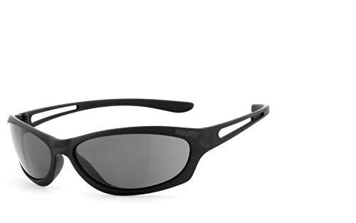Helly Bikereyes Flyer Bar 3-Bike Gafas, Gafas de Moto-SELBSTTÖNEND