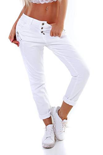 OSAB-Fashion 10894 Karostar by Lexxury Damen Jeans Röhre Hose Slimfit...