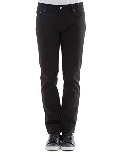 ACNE STUDIOS Herren 30Y176141 Schwarz Baumwolle Jeans