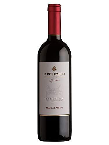 MARZEMINO Trentino DOC - Conti d'Arco - Vino rosso fermo 2018 - Bottiglia 750 ml