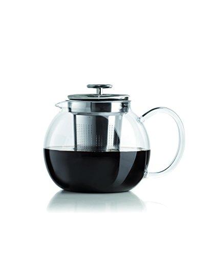 Bialetti Teapot Infusiera, Trasparente/Acciaio