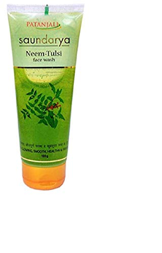 Patanjali Neem Tulsi Face wash 100gm - Pack of 1