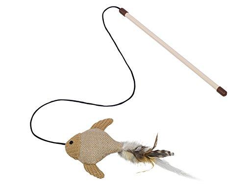 Nobby - Canna da Pesca in sisal per Gatto