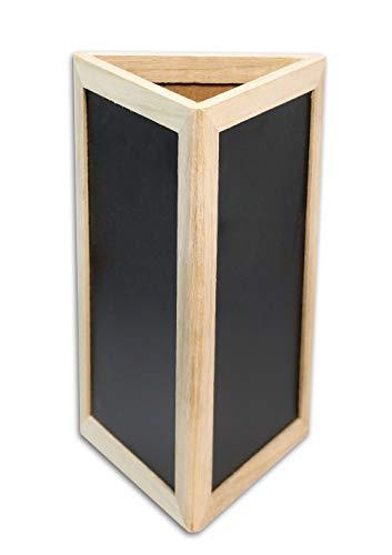 Vetrineinrete Lavagna Triangolare a 3 Facce lavagnetta da scrivania per memo Menù Bar Ristorante...