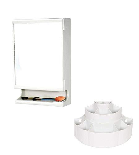 Branco New Look Bathroom Cabinet -White- (Lifetime Warranty*Made in India) - BRC-727