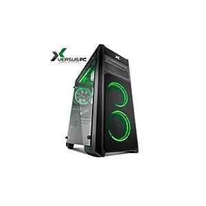 Versus PC Prime Z103 - Ordenador Gaming (procesador Intel Core i7 8ª Generación, 16 GB de Memoria RAM y Gráfica Nvidia Geforce GTX 1060, Color Negro iluminación LED RGB, 16.8 Millones de Colores)