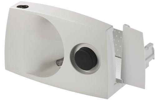 Ritter Markant-01 - Cortafiambres plegable, diámetro de 17 cm, 230 V, 65 W motor ECO, color blanco