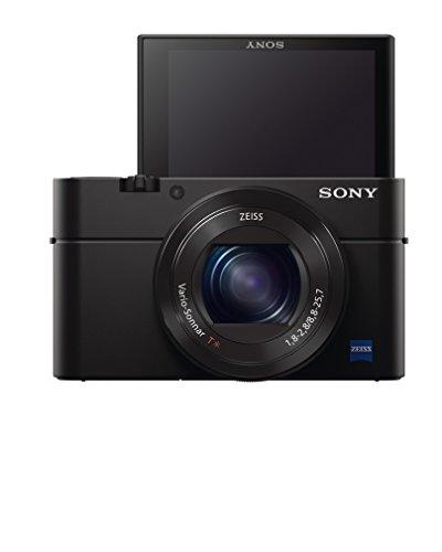 "Sony Cyber Shot DSC RX100 MIII - Cámara compacta de 20.1 Mp (Pantalla LCD Xtra Fine de 3"", zoom óptico 2.9x, estabilizador óptico, vídeo Full HD, WiFi), negro"