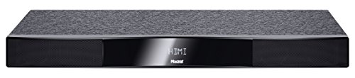 Magnat Sounddeck 150 | Home Cinema Sounddeck inkl. Downfire Subwoofer | Bluetooth aptX, USB, HDMI, CEC, ARC, Toslink, 3D-Raumklang, Schwarz