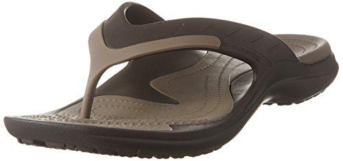 Crocs Modi Sport Flip, Infradito Unisex-Adulto, Marrone (Espresso/Walnut 23b), 43/44 EU
