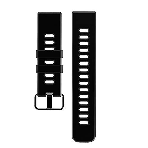 YAMAY Cinturino di Ricambio per SW018 Smartwatch, Nero