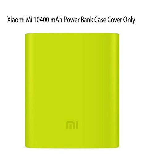 Heartly Soft Silicone Protector Case Cover for Xiaomi Mi 10400 mAh Power Bank ( Powerbank Not Included ) - Great Green