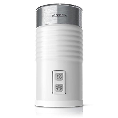 Arendo Milkloud - L'Originale Montalatte elettrico   Schiumatore latte caldo e freddo   2 Frullini  ...