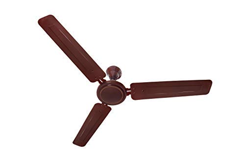 Lifelong High Speed Ceiling Fan 1200 mm Combo, Brown + Ivory